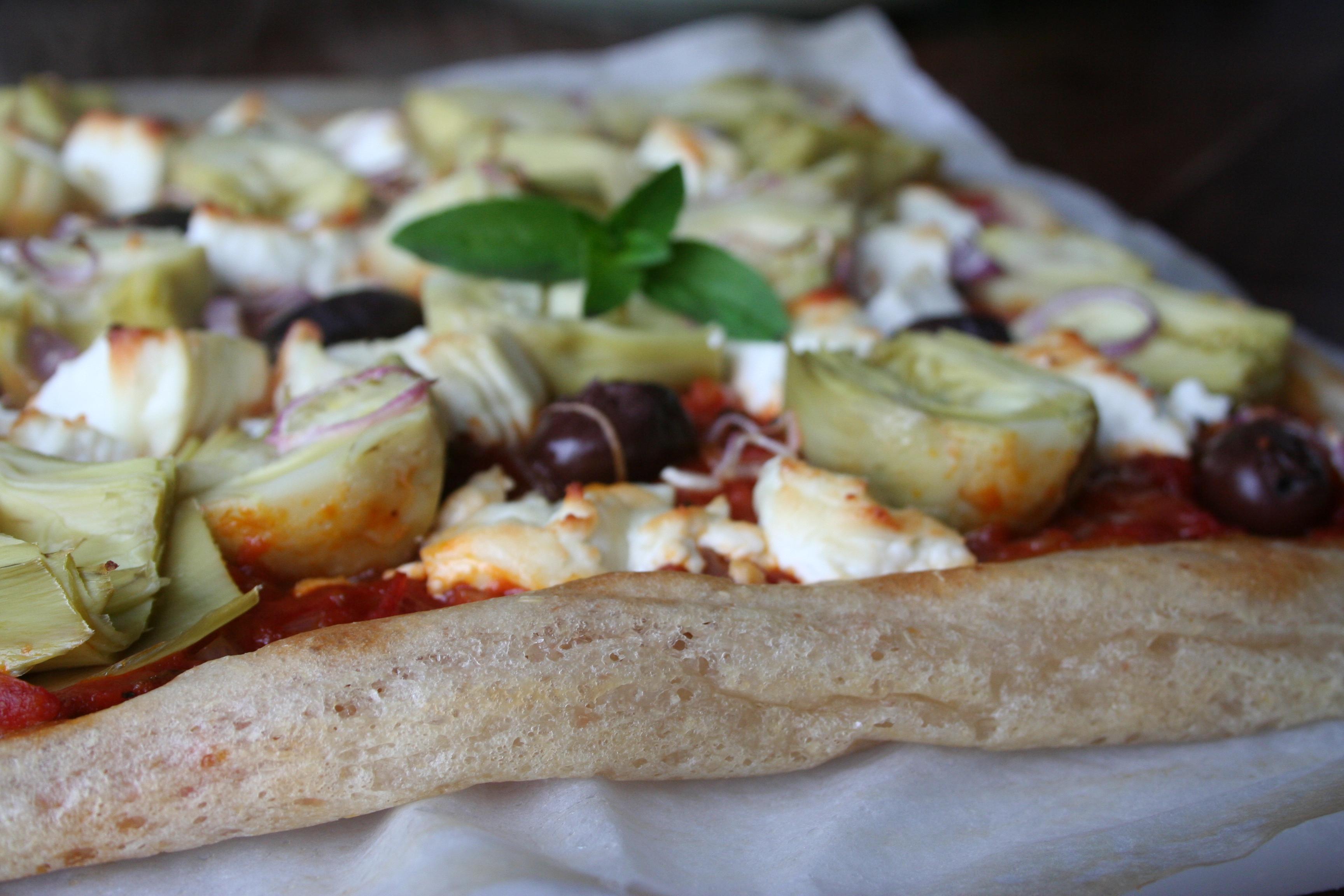 Pizza lichte korst