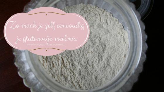 Zo maak je zelf eenvoudig je glutenvrije meelmix